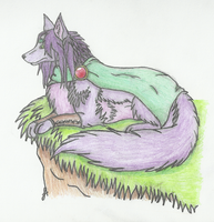 Faris - Wolf Coloured by LuzrovRulay