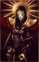 iron inquisitor kayle by Pantalewns