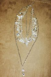 Crystal Charm Necklace by mintdawn