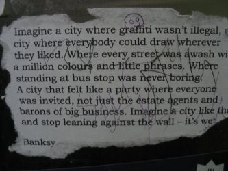 Banksy by i-know-pain-
