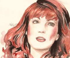 Florence Welch by WhiteBumblebee