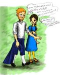 a gentleman and a lady by sweet-suzume