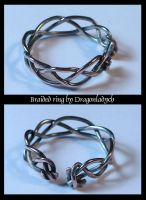Braided ring 2 by dragonladych