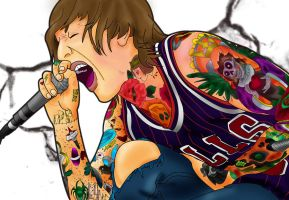 Oliver Sykes by ParaSadness
