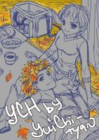 [closed] YCH auction autumn couple at a picnic by YuiChi-tyan
