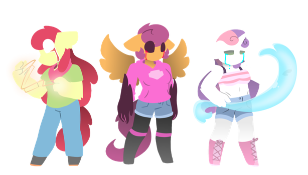 Lineless cmc thingy by synnibear03