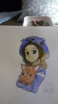 Me and my Little Fox by EmpatheticMortalAnge