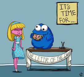 Letter of the Day... by RenrookART