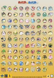 Pokemon Gold and Silver beta - FULL POKEDEX by blazeknight-94