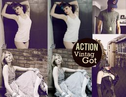 Action. VintagGot. by coral-m
