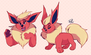 Flareon by Pastel-Core