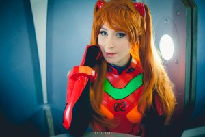 Asuka portrait by NikitaCosplay