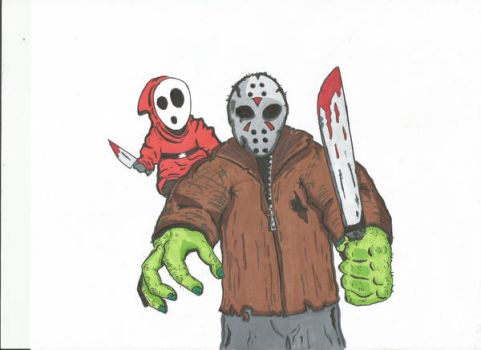 Jason and Shy. Guy by kylemulsow