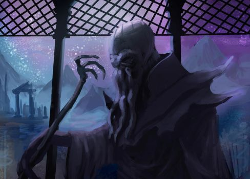 Illithid by Pataplouf