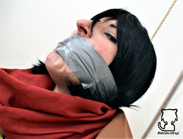 Mikasa in a lot of trouble... 9 by Natsuko-Hiragi