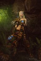 Alleria Windrunner - 5 by Feyische