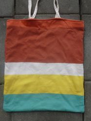 Upcycled beach tote bag by BellaGBear