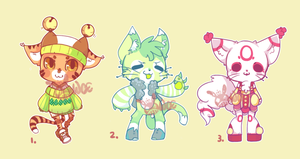 Adoptables 15 [CLOSED] by Woestijn
