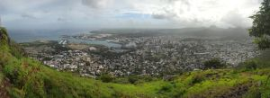 Port Louis Harbour Panorama III by carrotmadman6