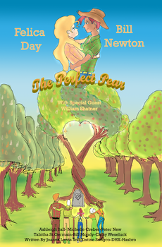 The Perfect Pear Movie Poster by AVasquezArt