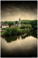 The Silence of the Village by BenHeine