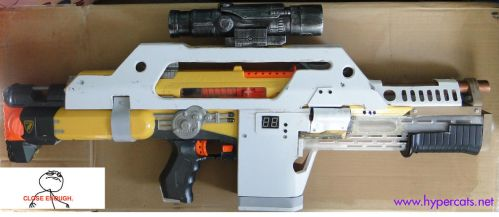 Nerf Stampede Pulse Rifle by Hypercats