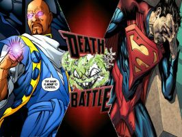 Tangent Superman vs Injustice Superman by ToxicMouse77