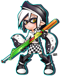 Neige the Inkling by R-no71
