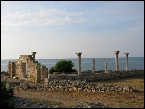 In Chersonesus Taurica by Anais07