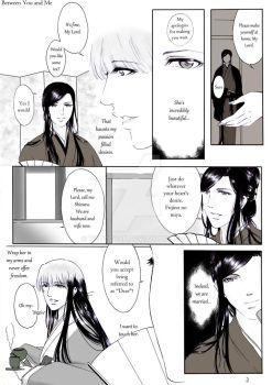 Between you and me Page number 2 by wetochan