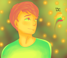 CITRUS BLISS Palette - [Phil Lester SPEEDPAINT] by oh-no-Castiel