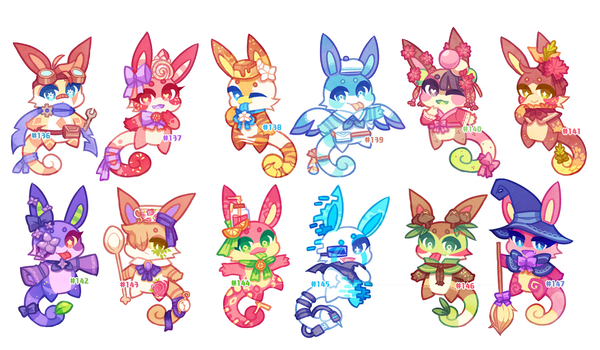 (CLOSED) Charminis Army #10 by scarletscreations