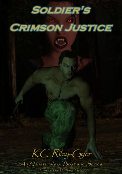 Soldier's Crimson Justice by KCRileyGyer