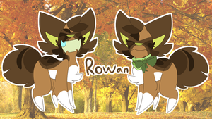 Rowan ref sheet by DoodleSnek