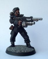 Inquisitor 54mm Guardsman by Conclave81