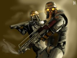 The Helghast Come by 6ideon