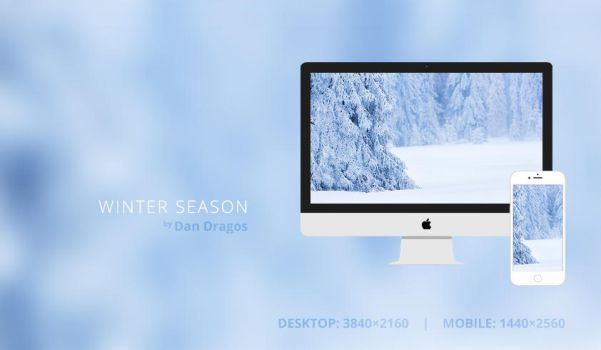 Winter Season Wallpaper by dandragos