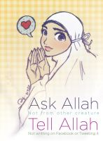 Ask Allah by finieramos