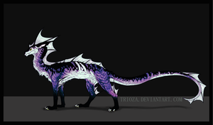 Dragon Design Auction #20 [CLOSED] by Trioza