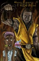 Scorpion Hopsin by darknight7