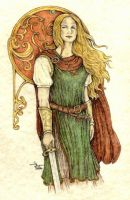 A Daughter of Kings by SarawenArt