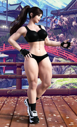 Chun Li: Sparring Costume (Black) by FatalHolds