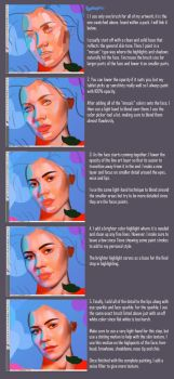 HOW TO: Paint A Face! (Outdated) by AimsR