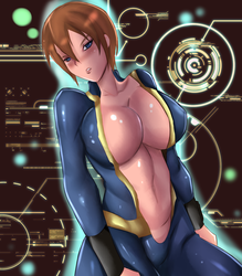 Commission: Vault Girl Kei Reese by R-Legend