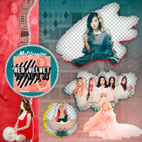 Pack Png 52 | Red Velvet | #4 by IDreamWithFire