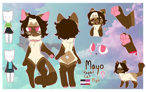 Mayo Fursona Ref March 2018 by SushPuppy
