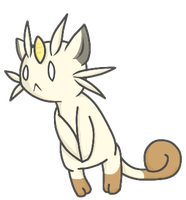 meowth by foxflaim