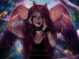 THE OWL woman by annemaria48