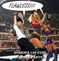 Shakira Lay-cool dance party by CaptainMarvelous