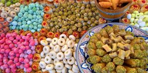 Moroccan sweets by Pajunen